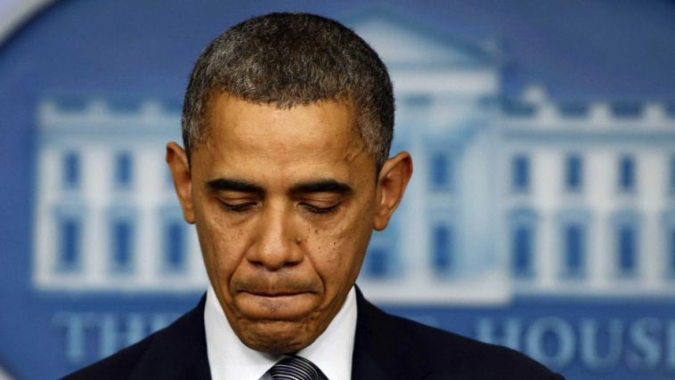 United States President Obama, giving speech after Connecticut Sandy Hook shooting.