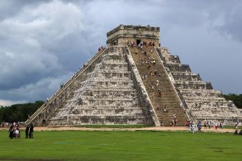The Mesoamerican Step Pyramid