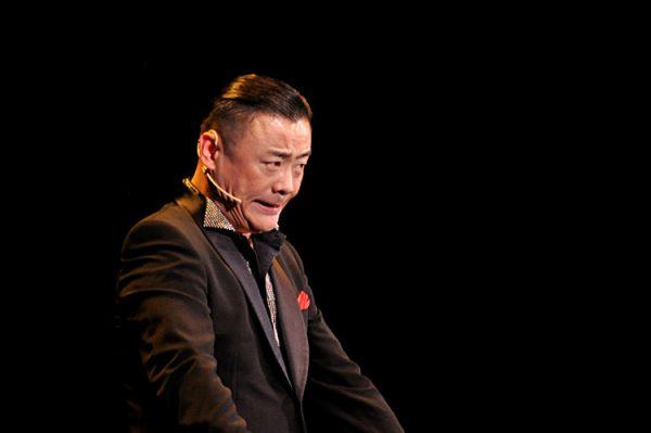 Zhou Libo, Chinese comedian.