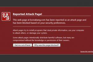 Recent malware warning on chinaSMACK and koreaBANG