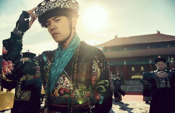 Jay Chou in Gong Gong with a Headache in his latest album Opus 12.