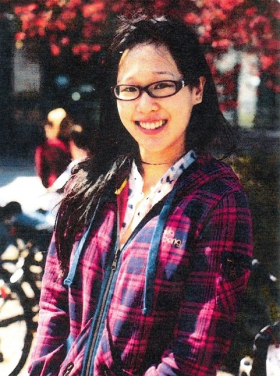 Elisa Lam, a missing Canadian-Chinese University of British Columbia student.