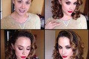 Chanel Preston, porn actress, before and after makeup comparison photo.