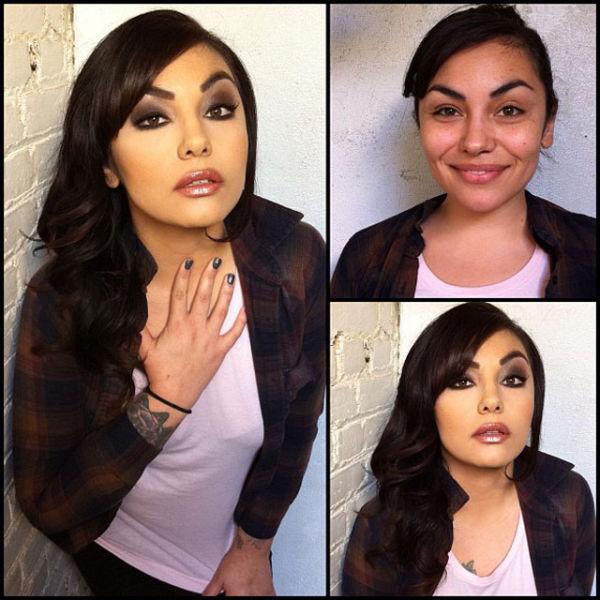 Make-up for pornstar, s having sex video