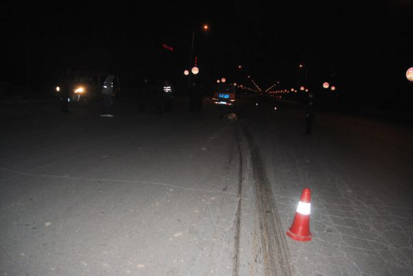 The scene of the incident.