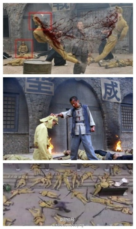 How Japanese soldiers died in Chinese dramas