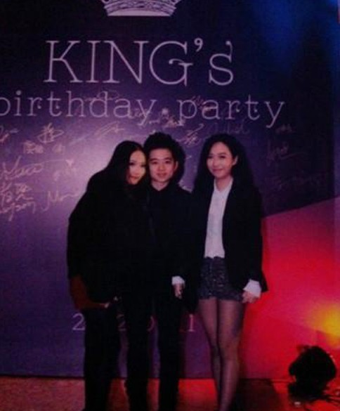 King's birthday party.