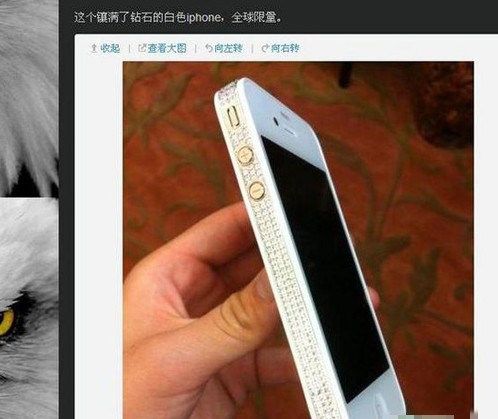Zhang Jiale's iPhone.