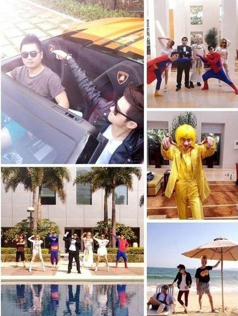 Zhang Jiale's life.