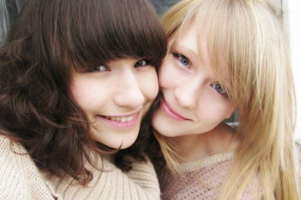 Pretty Russian girls.