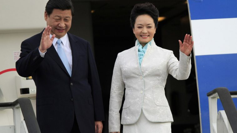 China's President Xi Jinping and First Lady Peng Liyuan.