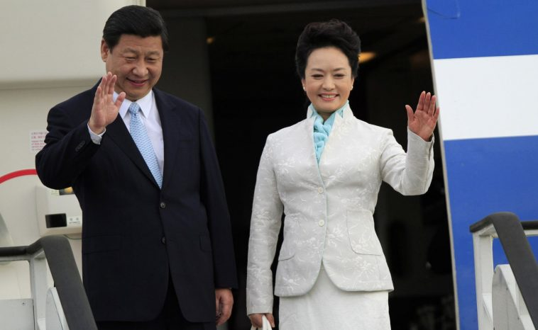 China's President Xi Jinping and First Lady Peng Liyuan.