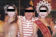 chinese-village-officials-with-transsexual-ladyboys-in-thailand