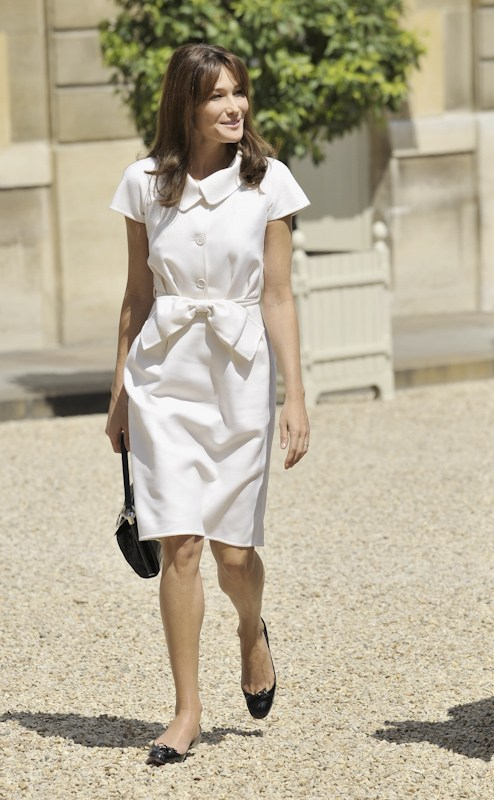 France's First Lady Carla Bruni.