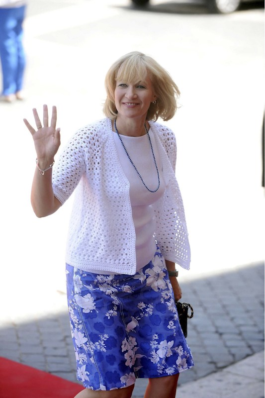 Canada's First Lady Laureen Harper.