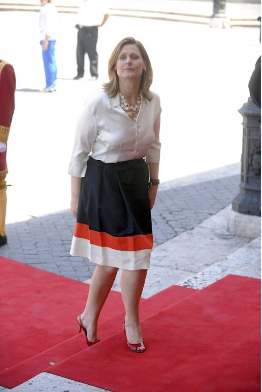UK's First Lady Sarah Brown.