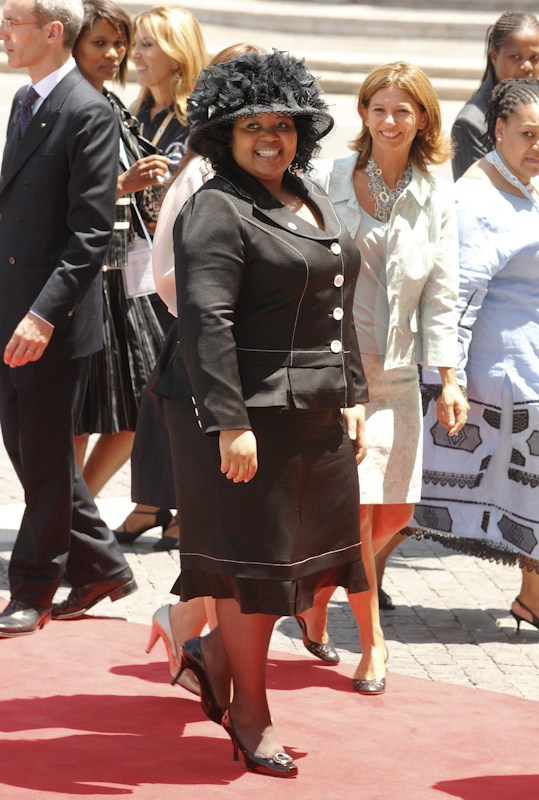 South Africa's First Lady Nompumelelo Ntuli.