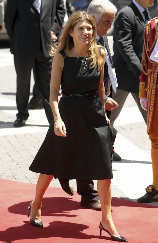 European Union Commissioner's wife.