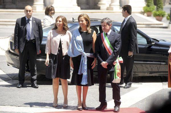 Mexico's First Lady Margarita Zavala.