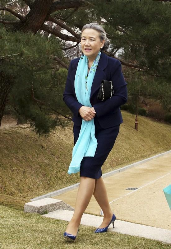 Ban Ki-moon's wife.