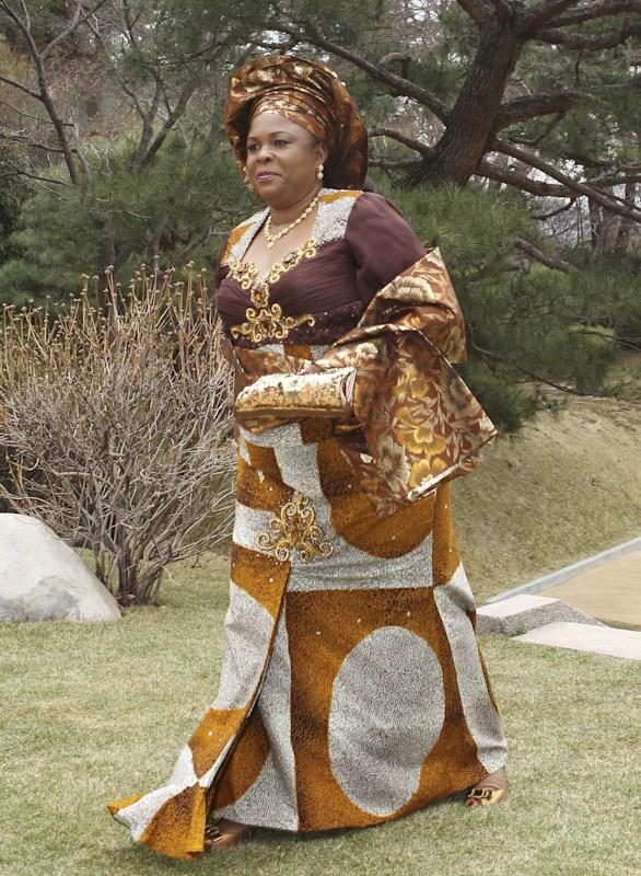 Nigeria's First Lady.