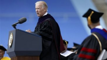 United States Vice President Joe Biden commencement speech at University of Pennsylvania 2013 graduation ceremony.