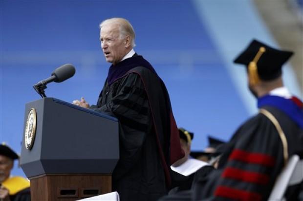 United States Vice President Joe Biden commencement speech at University of Pennsylvania 2013 graduation ceremony.