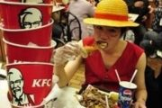 a foodaholic at KFC