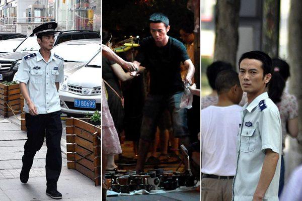 The undercover chengguan Gui.