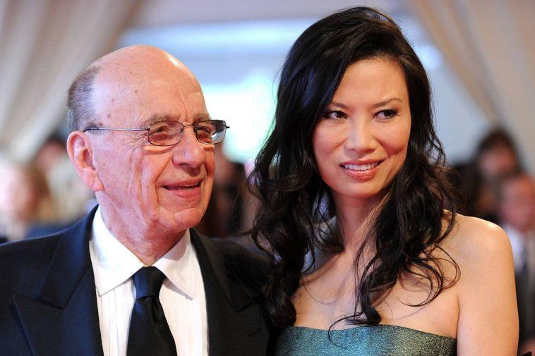 Rupert Murdoch and Wendi Deng.