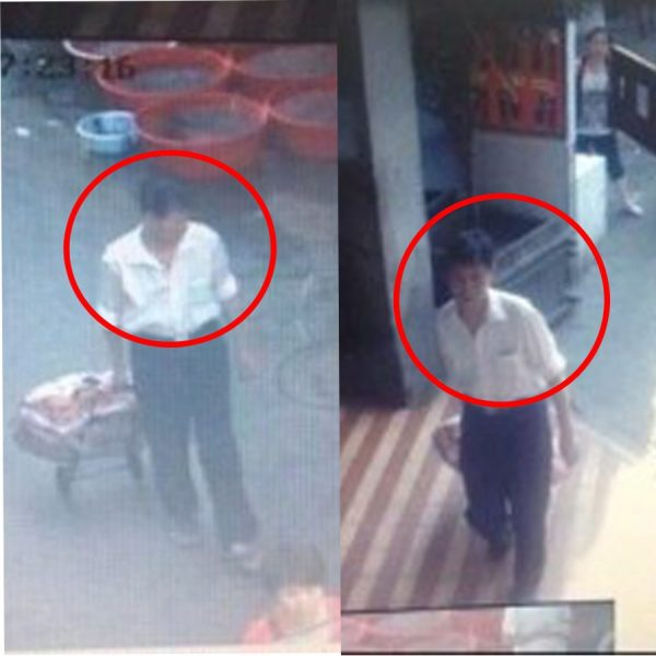 Surveillance video of Xiamen Public Bus Arson suspect Chen Shuizong.