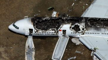Asian Airlines Flight 214 crash at San Francisco International Airport.