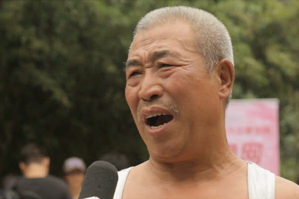 Elderly Chinese man says not visiting one's parents shouldn't be made illegal, but being 30 years old and still unmarried, now that should be illegal, and punished by the law!