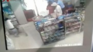 The surveillance footage.