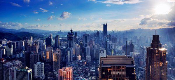 Shenzhen skyline.