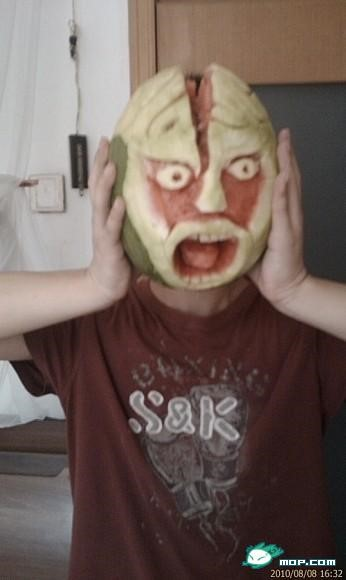 Scary watermelon 03