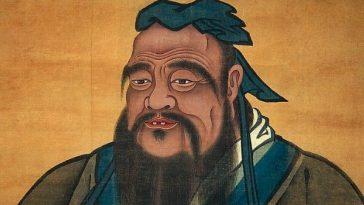 The image of Confucius.