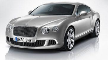 Bentley Continental GT.