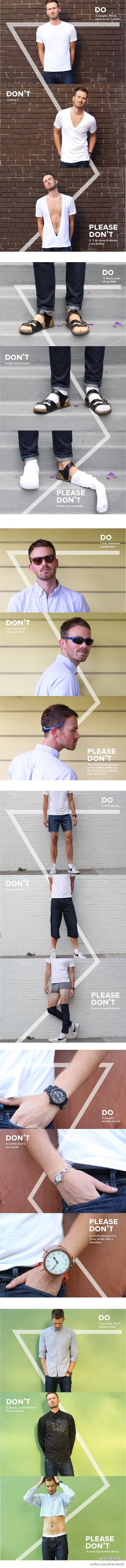 Fashion advice from the UK