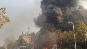 Qingdao oil pipeline explosion.