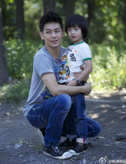 "Kimi and ""babi"" Jimmy Lin."