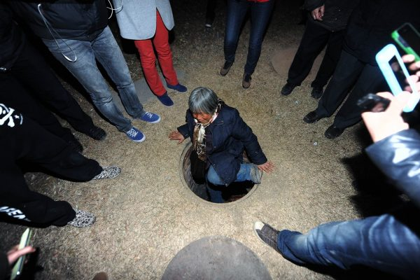 Beijing's underground dwellers kicked out of their wells