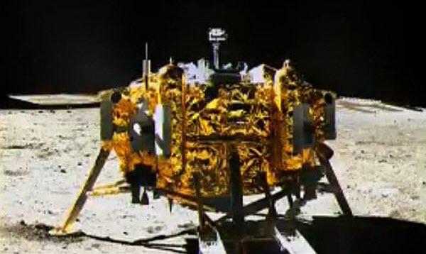 China's Chang'e 3 Lunar Probe and Lander.