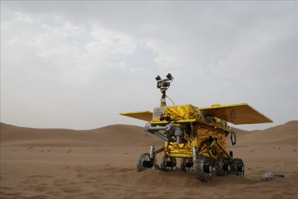 China's Yu Tu aka Jade Rabbit lunar rover.