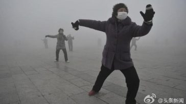 CCTV news claimed that heavy smog brings five unexpected advantages