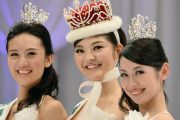 Rira Hongo crowed Miss International Japan.