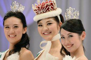 Rira Hongo crowed Miss International Japan.