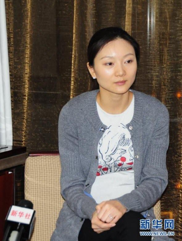 Zhang Yimu wife Chen Ting