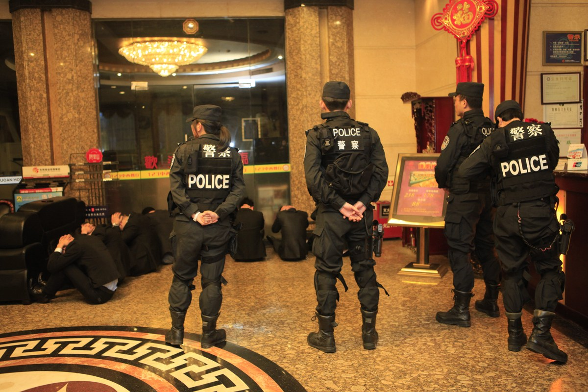 Massive Police Crackdown On Dongguan Prostitution Industry