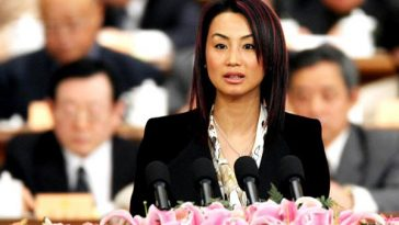 Liu Yingxia, rich Chinese businesswoman.